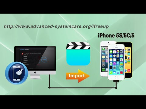 [iFreeUp]: How to Import Videos to iPhone 5S/5C/5 from Computer without iTunes