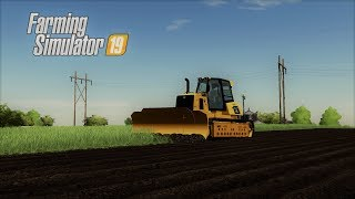 I GOT THE TRACTOR STUCK (ROLEPLAY) FARMING SIMULATOR 19