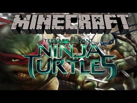 Minecraft- Ninja Turntle Sewer Lair!