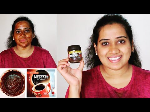 DIY Coffee Face Mask For Glowing Skin | Skin Brightening, Tan Removal, Skin Tightening