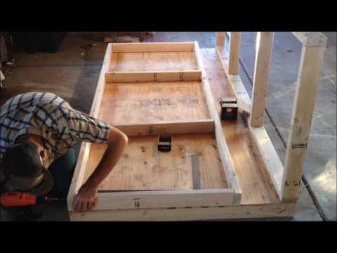 Chicken Coop Frame Build