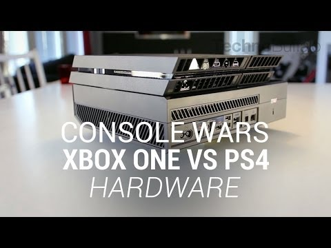 Console Wars: Xbox One Vs. PlayStation 4 -- Hardware (Round 2)