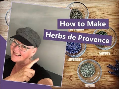 How to Make Herbs de Provence & Fancy Lavender Party Dip