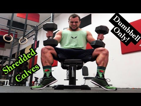 Intense Tabata Dumbbell Calf Workout (HIIT)