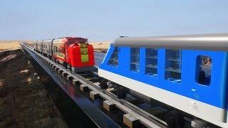 Lego Train Crashes & Derailments - Brick Rigs Crashes