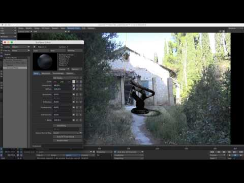 Putting 3D objects in your footage - Lightwave and After Effects CS6 Tutorial