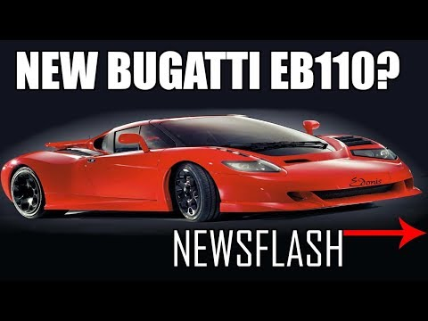 Newsflash EP 4 New Bugatti EB110 , Ferrari Valet Fail And Much More