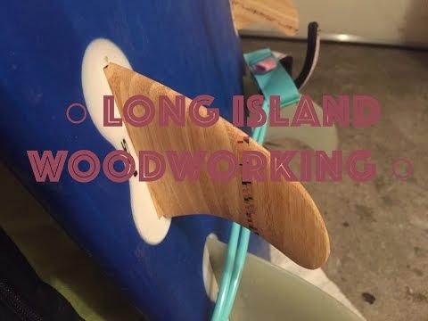 Making Wooden Surf Fins - 24