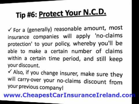 Car Insurance Ireland - Slash Your Motor Insurance Costs By Up To 71%