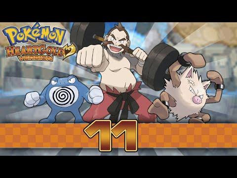 Pokemon HeartGold - Part 11 - Gym Leader Chuck!