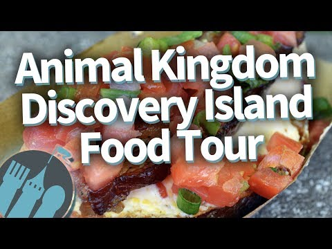 Disney World Food Tour: Animal Kingdom's Discovery Island!