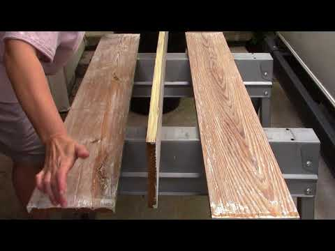 Making a Coffee Bar from a reclaimed door Part Two
