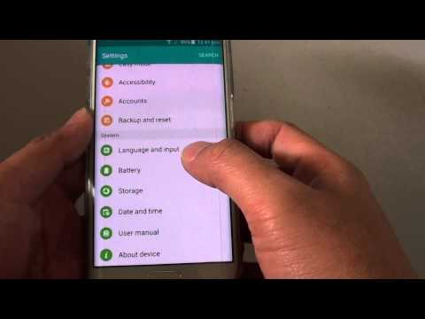 Samsung Galaxy S6 Edge: How to Manually Set the Date & Time