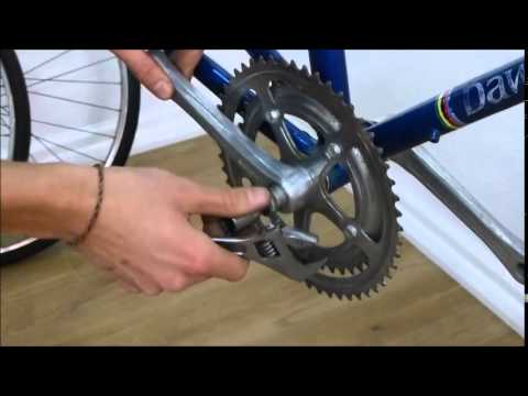 How To Remove a Bicycle Crankset Easily - Road Fixie MTB Bike Crank