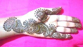 Happy Raksha Bandhan Very Easy Bharwa Mehndi Design