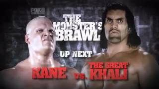 Kane Vs. The Great Khali - SmackDown
