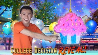 Download MY COLLEGE DECISION REVEAL! (with Balloons and Cupcakes)   Waddle's College Decision 2019 FINALE! Video