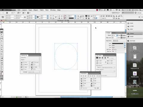 Wrapping Type around an Object/Image in InDesign