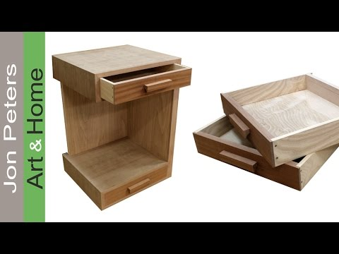 How to Build a Bedside Table – Nightstand. FREE PLANS