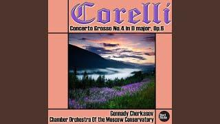 Concerto Grosso No4 In D Major Op6 Iv Allegro