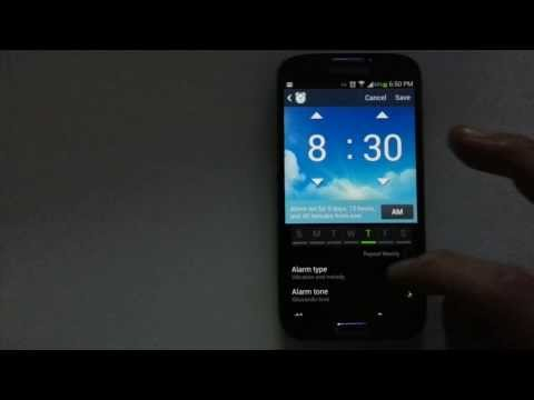 Android Phones: How to Set Alarm with Music or Personal Audio/Recording
