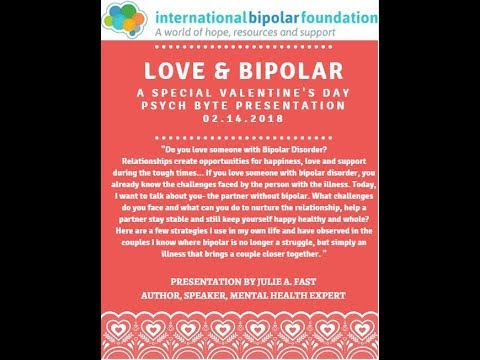 Julie Fast: Relationships and Bipolar Disorder