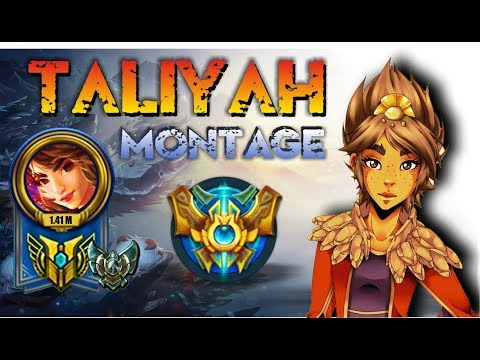 Taliyah Montage   Best Taliyah Plays S7   Taliyah Pentakill Compilation   League of Legends