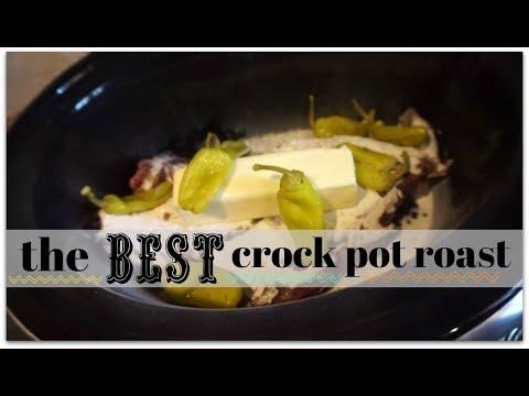 THE BEST CROCK POT ROAST (April 4, 2018) Vlog