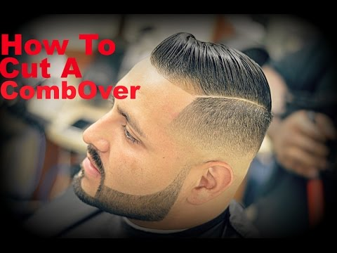 Barber Tutorial: How To Cut A Comb-Over HD* (Cristiano Ronaldo)