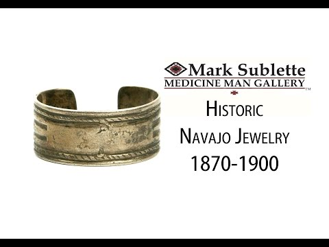 Native American Indian Jewelry: How to identify Authentic Antique Navajo Bracelets from 1870-1900