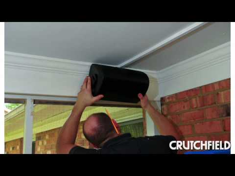 How to Install Outdoor Speakers | Crutchfield Video
