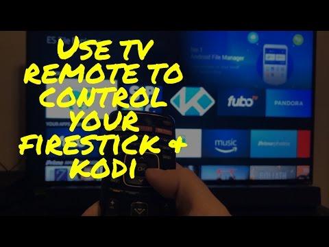 Use TV remote to control Firestick / Kodi !