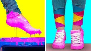 CREATIVE DRAWING TRICKS AND HACKS || Cool and Funny DIY Art Hacks by 123 GO!
