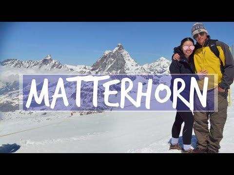 VLOG | ZERMATT Glacier Paradise & 12 HOURS IN ZURICH AIRPORT