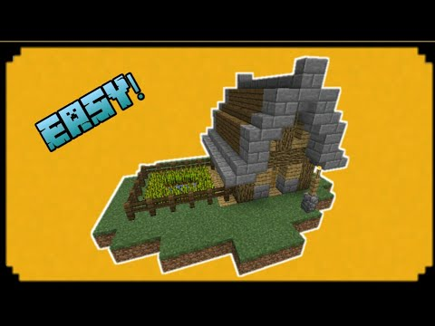 MCPE | How To Make an Small and Easy Starter House!