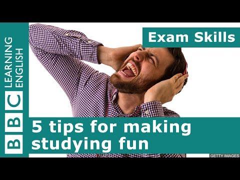 Exam skills: 5 tips for making studying fun