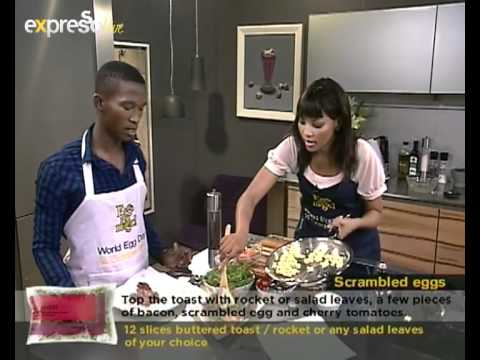 Sibahle Mtongana makes Breakfast on eXpresso