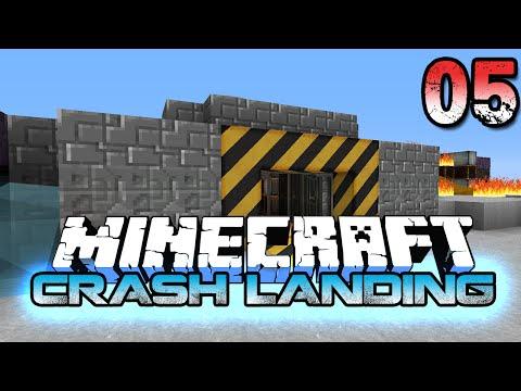 Minecraft Crash Landing 5 - Exploring the City