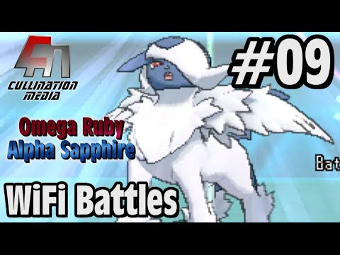 Pokemon Omega Ruby and Alpha Sapphire Live WiFi Battle #09: Mega Absol's Mega Power