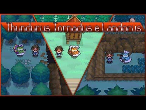 Detonado pokemon Volt White 2 - part 88 - Tornadus, Thundurus e Landorus!