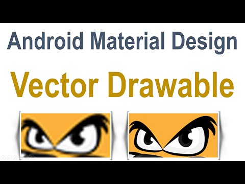245 Android Vector Drawable Example |