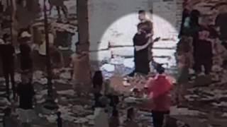 Surveillance footage shows Toomer