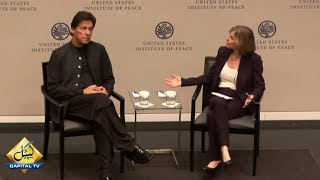 Question Answer Session with PM Imran Khan at U.S. Institute of Peace in Washington DC | 23 July 201