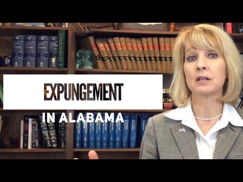 Alabama expungement basics