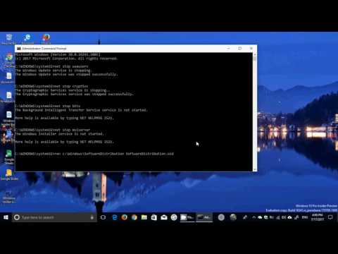 Windows update fix for failed install or no install at all after restart of PC in Windows 10