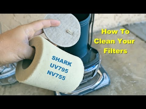 How to Clean Your Filters - Shark Vacuum UV795 / NV755