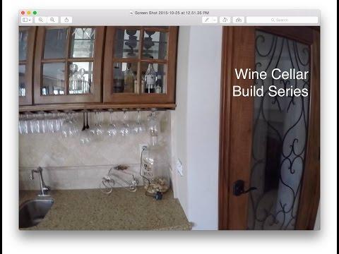 Wine Cellar Build: Introduction