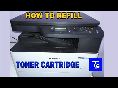 REFILL TONER CARTRIDGE in xerox/Printer .( Samsung K2200 ) ( English )