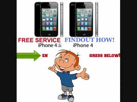 How To Get Free Wireless Service on an iphone 4 or 4s | Web Boy jr.