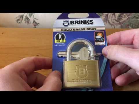 FF061 - Brinks Model 161-50001 Padlock